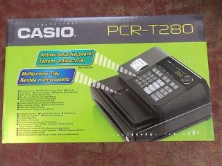 Casio PCR T280 Cash Register NEW 58mm Thermal Printer 20 Departments 8