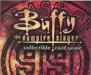Buffy TVS CCG TCG Limited Class Of 99 Uncommon Foil [89 116] Pick One