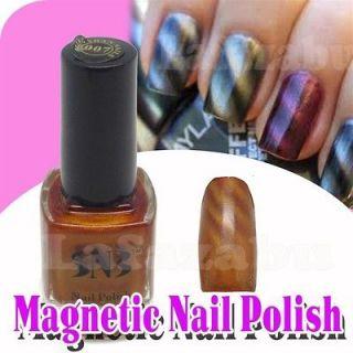 Fashion Magnetic Nail Polish Varnish Finish 12ml   #57 Metallic Gold