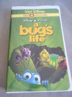 WALT DISNEY PIXAR A BUGS LIFE (VHS, 2000, Gold Collection Edition)