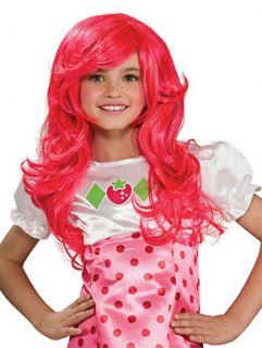 Strawberry Shortcake Wig for Kids Halloween Costume