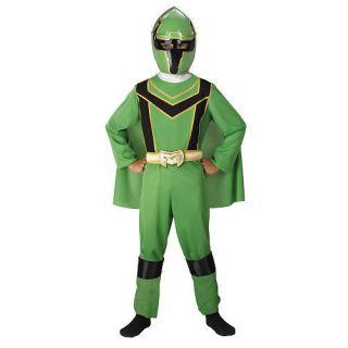 Power Rangers Mystic Force GREEN Ranger Costume NEW Size M 7 8 Med