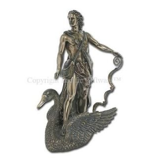 Greek God of Light Archery Poetry Apollo Statue Olympian Deity Son of