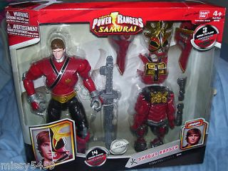 Power Rangers Samurai #31741 Fire Red SHOGUN RANGER Jayden 9 14 Armor