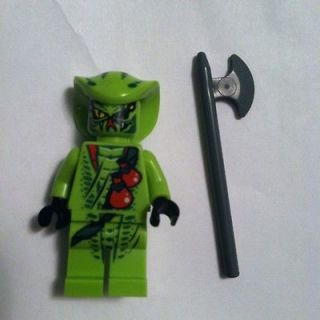 LEGO Ninjago Lasha Green Snake Ninja Minifigure with Weapon
