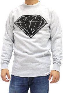 Diamond Supply Co. Big Brilliant Crew Sweater (Heather)