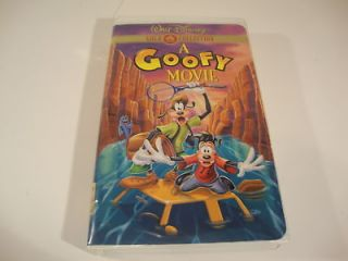 Goofy Movie VHS Classic Movie Film Animated Gold