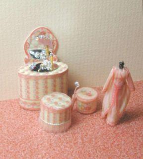 Quarter scale kit Victorian Vanity & Mannequin 1/4