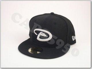 New Era Hats Fitted Arizona Diamondbacks Baseball Caps