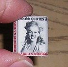 Miniature book QUOTABLE QUOTES OF MARILYN MONROE 26 pgs w/Pictures