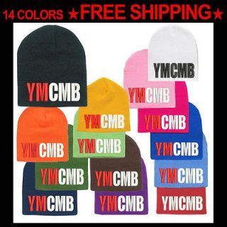 YMCMB Beanie Hat Young Money Cash Money Billionaire Hip Hop Swagger