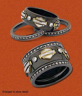Spirit of Harley Stacking Ring Gold version Franklin Mint SZ 10