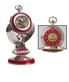 Franklin Mint HARLEY DAVIDSON ~ ULTIMATE 1948 PANHEAD POCKET WATCH
