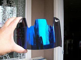 Purple Football Eyeshield Visor Insert For Under Armour From