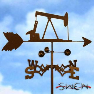 Hand Made OIL WELL RIG PUMP JACK Weathervane ~NEW~
