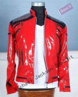 MUST HAVE MICHAEL JACKSON BEAT IT JACKET FOR PERFORMANCE