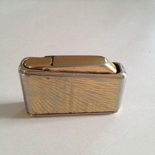 Vintage Art Deco Colibri mono GAS Cigarette Lighter Made in Dublin