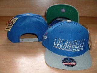 LOS ANGELES DODGERS LA VINTAGE STYLE FLAT BRIM SNAPBACK HAT CAP