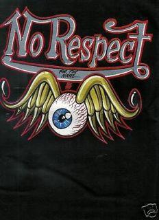 No Respect Von Dutch style Motorcult t shirt assor size