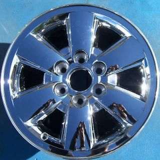 2011 GMC YUKON XL SIERRA DENALI 1500 PICKUP 18 WHEEL RIM CHROME 5418