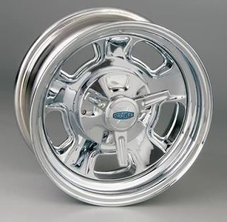 Cragar Wheel Street Pro Steel Chrome 15x6 5x4.5/4.75 BC 2.625