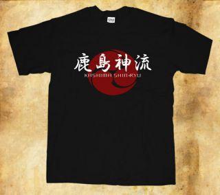 KASHIMA SHIN RYU Kenjutsu Japan Martial Art T shirt