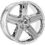 20 Inch Wheels Rims Chevy GMC Truck Tahoe Astro Van 5x127 5 Lug Chrome