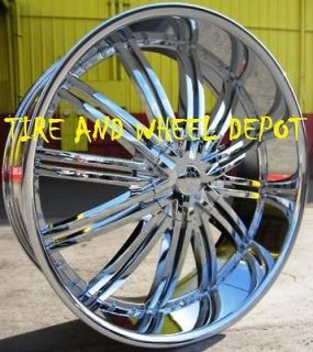 24 INCH RSW99 RIMS ONLY CROWN VIC MARAUDER GRAND MARQUIS CHRYSLER 300