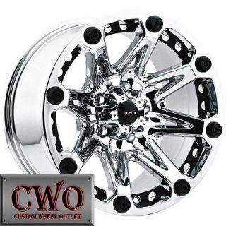 18 Chrome Jester Wheels Rims 6x139.7 6 Lug Titan Tundra GMC Chevy 1500