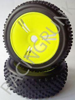 RC Buggy 1/8 EP Nitro Off Road Wheel Rim & Tyre tire YL