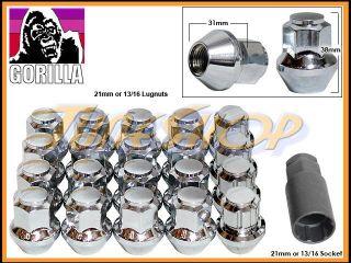 16+4 LOCK GORILLA STOCK OEM FACTORY WHEELS LUG NUTS 14X1.5 M14 1.5 RIM