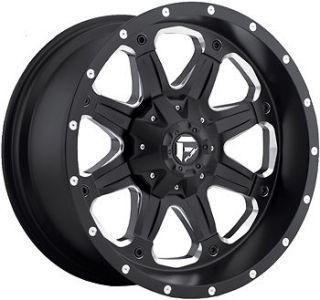 Black Fuel Boost Boost 5x4.5 & 5x5 +14 Wheels Couragia MT 35X12.5X17
