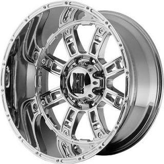 XD XD809 Riot 8x170  24 Rims Nitto Mud Grappler 35X12.5X20 Tires