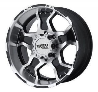 20x9 Moto Metal MO957 Black Wheel/Rim(s) 8x165.1 8 165.1 8x6.5 20 9