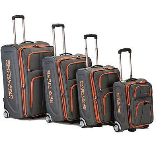 Rockland Polo Equipment Olympian 4 piece Expandable Luggage Set