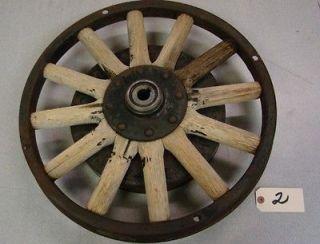1930 WHIPPET 20 Wooden Spoke Wheel w/ Brake Drum Rear #2 ~Lots of