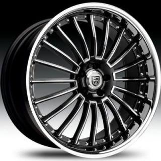 20 Lexani Wheels LSS 11 Rims Stagger G35 Lexus BMW 22