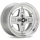 Enkei Apache II 4x100 38mm Silver Machined Rims Wheels Inch 15