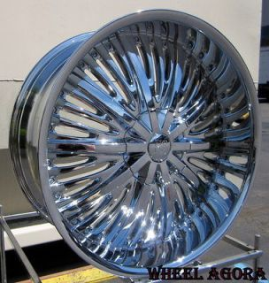 24 INCH RIMS WHEELS & TIRES F 150 NAVIGATOR EXPEDITION CHEVY 5X127