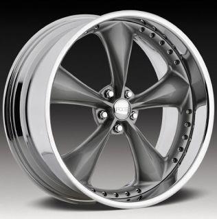 15 FOOSE Wheel NITROUS Chrome Rim FOOSE NITROUS GREY