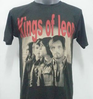Newly listed KINGS OF LEON ROCK T  SHIRT BLACK SIZE Large