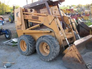 Case 1845 C Loader skid steer cummins Diesel 4X4 cab