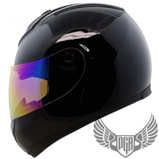 Gloss Black GSX Full Face DOT APPROVED Motorcycle Helmet for Street
