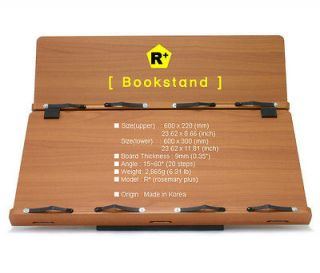 Book Stand Portable Wooden Reading Desk Holder [R+]