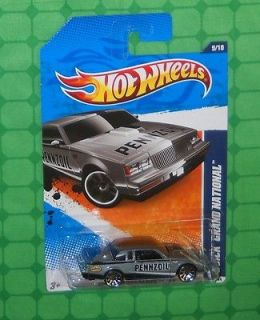 2011 Hot Wheels HW Performance #139   Buick Grand National   Grey