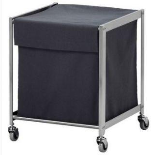 Ikea Laundry Hamper Basket Cart with Wheels Casters NIP