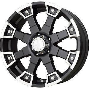 New 18X9 8x170 V TEC Brutal Black Wheel/Rim