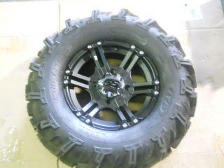 ITP SS112 4/110 5+3 ATV WHEEL & 6 PLY ITP MUDLITE 27X12X14 TIRE #57