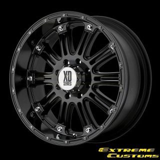 XD Series XD795 Hoss Gloss Black 5 6 8 Lugs One Single Wheel Rim