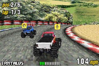 Monster Truck Madness Nintendo Game Boy Advance, 2003